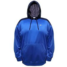 Champion Mens Big Tall Performance Pullover Contrast Hoodie, CH212, 4XL, Surf