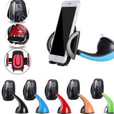 Black -ZH262 Car Windscreen Holder Suction Mount Stand For Smart Phone Sony