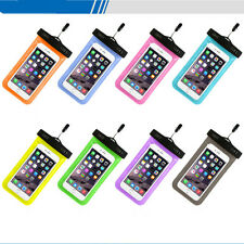 UK Clear Snow/Waterproof Underwater Dry Pouch Case Bag For Mobile Phone MP3/MP4