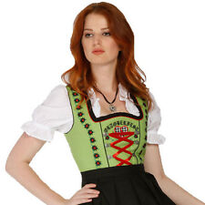 1312 - 3 pc Dirndl Dress Trachten Oktoberfest 4,6,8,10,12,14,16,18,20,22