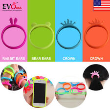 Modern Fashion Silicone Ring Case Bumper Cover Bracelet for iPhone 6s 7Plus