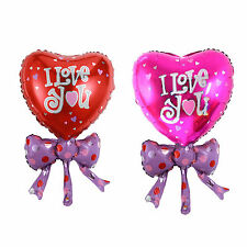Bow Tie/Heart Love style Foil Helium Balloon Valentines Wedding Party Decoration