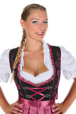 1237 - 3 pc Dirndl Dress Trachten Oktoberfest 4,6,8,10,12,14,16,18,20,22