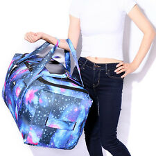 Large Women's Carry On Travel Overnight Duffle Gym Sport Backpack Weekend Bag
