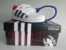 Adidas Marvel LK Spider-Man CF I Trainers Infants Kids Boys Casual Shoes