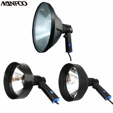 12V 6''/7''/10'' 100W Marine Halogen Spotlight Hunting Handheld Searching Lights