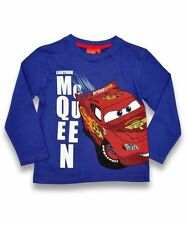 Disney Pixar Cars Lightning McQueen Long Sleeve Top - Various Sizes - Box6115 .