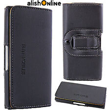 Universal Leather Mobile Belt Loop Pouch Case Cover for Apple iPhone 7 6/6s 5/5s