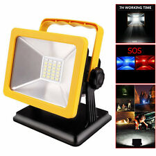 15W 24Led Rechargeable Camping Hiking BBQ Spotlights Emergency Work Light Lamp