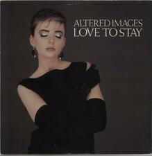 "Altered Images Love To Stay UK 12"" vinyl single record (Maxi) TA3582 EPIC 1983"