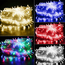 200/300/500 LED Fairy Lights Indoor/Outdoor String Lighting Xmas Christmas Party