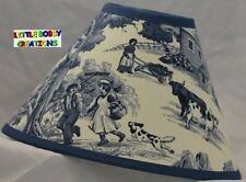Vintage Farming Life Lamp Shade (Made by LBC)  SHIPS WITHIN 48 HOURS!!!