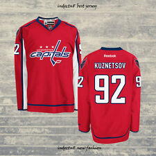Washington Capitals 92 Evgeny Kuznetsov Red Hockey Jersey Men's Kuznetsov