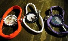 New Western Equestrian Horse Cowboy Themed Bottlecap Bracelet + Charms You Pick