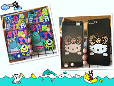 Monster University Hello Kitty Cover Screen Protector For iPhone 6/6S P 7/7 P