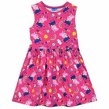Peppa Pig Dress | Girls Peppa Pig Dress | Fabulous Peppa Pig Flare Dress | NEW