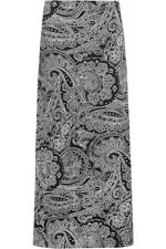 New Summer Black Paisley Maxi Skirt PLUS SIZE Curve 16-24 LOOK evans yours be