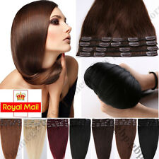 Clip in Remy Human Hair Extension Premium Standard set Real Hair Extensions A394