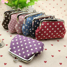 HOT Women Girls Mini Wallet Coin Purse Hasp Clutch Key Card Holder Handbag Bag
