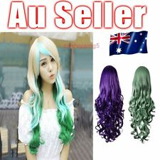 Cosplay Big Wig Long Wavy Curly Synthetic Hair Party Full Hair Wigs 3 Colours OP