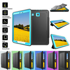 Shockproof Protective PU Leather Smart Cover Case for Samsung Galaxy Tab E 9.6""
