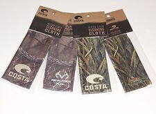 NEW Costa Del Mar Microfiber Lens Cleaning Cloth RealTree or Mossy Oak
