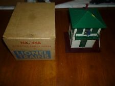 Lionel Postwar #445 Operating Switch Tower w/Original Box