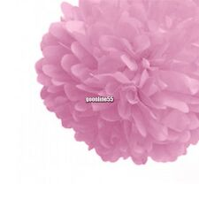 New Wedding Decorations Tissue Paper Pompoms Party Craft Paper Flower EA9