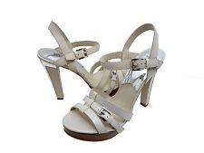 Michael Kors Womens Grace Platform Open Toe Buckle Ankle Strap Sandals Heels
