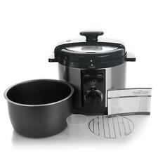 Wolfgang Puck Rapid Pressure Cooker Automatic 5 Quart Factory Refurbished