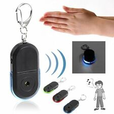 Wireless Anti-Lost Alarm Key Finder Locator Keychain Whistle Sound LED Light XC