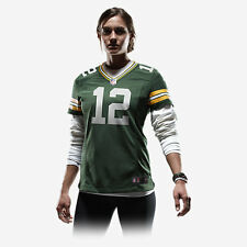Nike On Field NFL Green Bay Packers 12 Aaron Rodgers Jersey Womens M 469900 323
