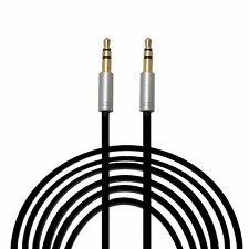 6ft 12ft Male to Male 3.5mm Stereo Audio Patch Aux Cable Cord For iPod MP3 PC