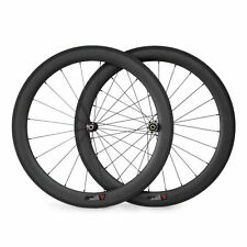 1260g 50mm Tubular R36 3K Carbon Wheels Road Bike Straight Pull Hubs Wheelset