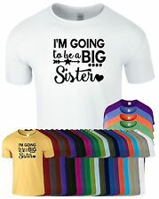 Im Going To Be A Big Sister Kids T-Shirt New Baby Announcement Gift Present