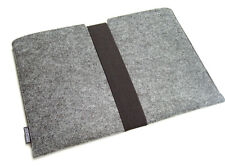 Surface Laptop felt sleeve case wallet WITH STRAP, UK MADE, PERFECT FIT!