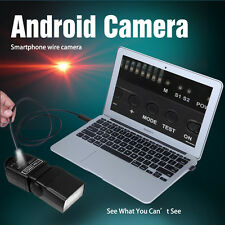6LED 1-10M  Endoscope Waterproof Android Borescope Snake Inspection Camera video