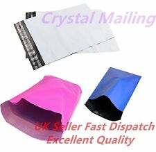 Coloured Plastic Mail Post Mailing Postage Grey Poly Bags Self Seal All Sizes