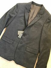 """ALL SAINTS GREY """"HOWTH"""" FITTED BLAZER  (COAT JACKET) - 36"""" & 38"""" - NEW & TAGS"""
