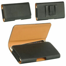 Brand New Universal Belt Clip Leather Case Pouch For Mobile Phones
