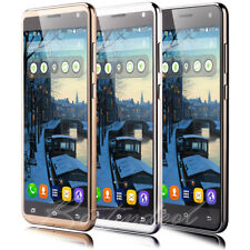 """5.5"""" Smartphone Unlocked Android 5.1 Dual SIM Quad Core 3G For Mobile Phone WIFI"""