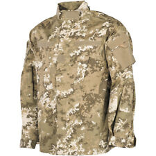 MFH Mens ACU Ripstop Uniform Shirt Army Combat Field Jacket Vegetato Desert Camo
