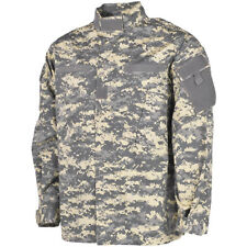 MFH Mens ACU Ripstop Uniform Shirt US Army Combat  Field Jacket ACU Digital Camo