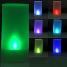 Colors Changing Led Flicker Blow Sensor Flameless Electronic Battery Candle Lamp