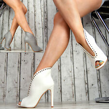 new luxury SeXy Women's Shoes Pumps Peep Toes High Heels Boots Ankle Boots Party