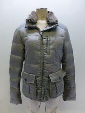 EDDIE BAUER Yukon Aristocrat 550 fill Down puffer Coat faux fur womens sz Medium