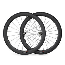 1370G 60mm Tubular Carbon Wheels Carbon Road Racing Straight Pull Wheelset