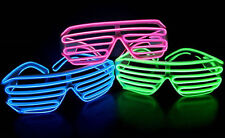 EL Wire Light Up Hat by Twisted Glow Color Shutter Shades with Sound Activated