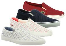 Womens Lacoste Pumps Casual Slip On Trainer summer Lightweight Shoes