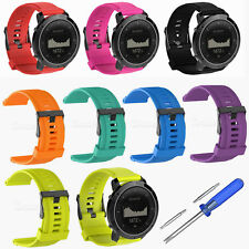 Replacement Silicone Watch Band Wrist Strap for Suunto Traverse/Alpha GPS Watch